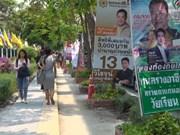 Thaïlande : les partis prêts pour le dernier tour