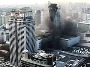 Thaïlande: 2 morts, 14 blessés dans un incendie au centre commercial Central World