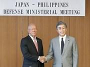 Les Philippines et le Japon s'engagent à renforcer leur coopération dans la défense