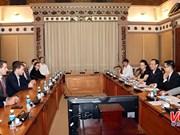 La société américaine 8VC cherche des opportunités d'investissement à Hô Chi Minh-Ville