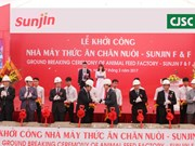 Ha Nam : inauguration de l'usine de production d'aliments pour animaux