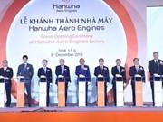 Inauguration de l'usine Hanwha Aero Engines à Hanoï