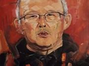 Arts : un portrait à l'huile de l'entraîneur Park Hang-seo sera mis aux enchères