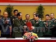 Une délégation militaire vietnamienne en visite officielle au Cambodge