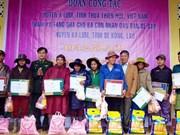 Thua Thien-Hue : des cadeaux offerts à des Laotiens