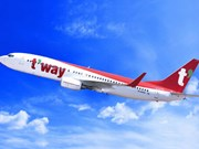 T'way Air ouvre la ligne Incheon – Nha Trang