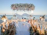 Un couple de milliardaires indiens se marie sur l'île de Phu Quoc
