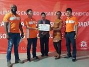 La coentreprise de Viettel au Mozambique soutient les habitants après le typhon Idai