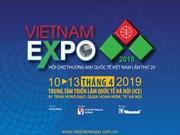 Bientôt la foire Vietnam Expo 2019 à Hanoï
