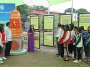 Exposition sur les archipels de Hoàng Sa et Truong Sa à Thai Nguyen