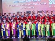 Ouverture du 6e Concours international de chant choral à Hôi An