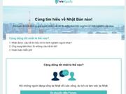 Lancement d'un site web pour les Vietnamiens au Japon