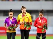 Athlétisme : Quach Thi Lan remporte une médaille d'or lors de la compétition Grand Prix d'Asie 2019