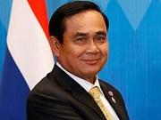 Message de félicitations au Premier ministre thaïlandais