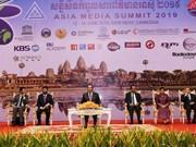 Ouverture du 16e Sommet des médias d'Asie (Asia Media Summit) au Cambodge