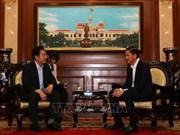 Le dirigeant de HCM-Ville suggère de promouvoir les liens avec les localités sud-coréennes