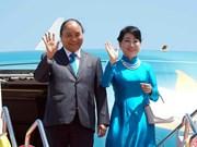 Le PM arrive à Bangkok pour le 34e Sommet de l'ASEAN