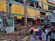 Un violent séisme frappe l'Indonésie