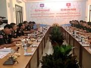 Coopération renforcée entre les Armées du Génie vietnamienne et cambodgienne