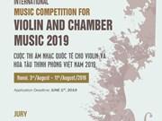 Bientôt concours international de violon et musique de chambre au Vietnam