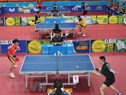 """Ouverture du tournoi de ping-pong """"Raquette d'or"""""""