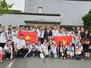 Maths : tous les candidats vietnamiens au concours WMI sont primés