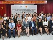 La Nouvelle-Zélande organise pour des fonctionnaires vietnamiens un cours d'anglais