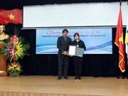 """Remise des prix du Concours """"Jeunes Reporters Francophones - Vietnam 2018"""""""