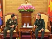 Vietnam-Cambodge : des organes de protection juridique militaires échangent leurs expériences