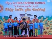 Festival du tournesol: Au chevet des enfants cancéreux