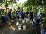 An Giang : Exemple d'une construction via le fonds de solidarité des populations locales