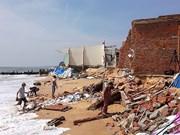 Aide gouvernementale pour la lutte anti-érosion côtière à Binh Thuân