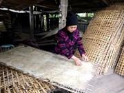 Bac Kan : L'effervescence du village de vermicelles à l'approche du Têt