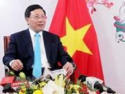 Le travail des relations extérieures contribue à rehausser la position du pays