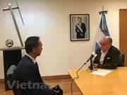 Le ministre argentin des AE qualifie le Vietnam de partenaire économique important