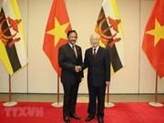 Le sultan du Brunei Haji Hassanal Bolkiah termine sa visite d'Etat au Vietnam