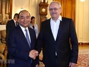 Entrevue entre le PM Nguyên Xuân Phuc  et le président de la Chambre des députés de Roumanie