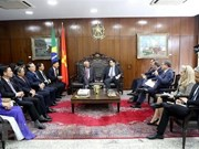 Vietnam et Brésil promeuvent la coopération dans le secteur législatif