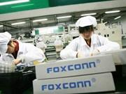 Foxconn veut ouvrir une usine de 40 millions de dollars dans la province de Quang Ninh