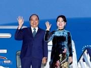 Le Premier ministre Nguyên Xuân Phuc s'envole au Japon