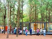 """Ouverture de l'exposition """"Art dans la forêt"""""""