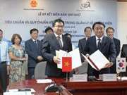 Vietnam et R. de Corée signent un protocole d'accord sur la gestion du réseau électrique