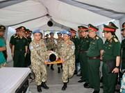 Le Vietnam participe activement à l'opération de maintien de la paix de l'ONU