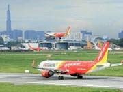 Vietjet: les recettes du transport aérien augmentent fortement de 22%