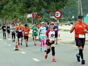 Dà Nang: plus de 9.000 personnes participent au marathon international Manulife