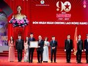 Le PM Nguyên Xuân Phuc assiste à une cérémonie marquant le 90e anniversaire du journal Lao Dông