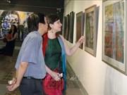 Exposition de peintures contemporaines hongro-vietnamienne