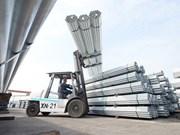 Hoa Phat exportera près de 1 .000 tonnes de tubes en acier galvanisé vers l'Inde