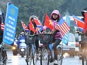Les Hanoiens sont prêts à accueillir le président Kim Jong-un