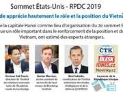 2e Sommet États-Unis - RPDC: Le monde apprécie hautement le rôle et la position du Vietnam